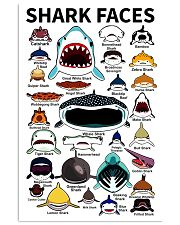 Sharks Faces 11x17 Poster front