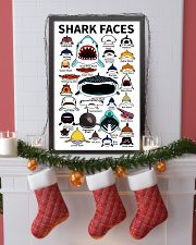 Sharks Faces 11x17 Poster lifestyle-holiday-poster-4