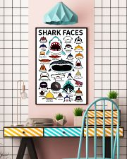 Sharks Faces 11x17 Poster lifestyle-poster-6