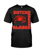 Alaska crab legs Alaska crab fishing crabs d Classic T-Shirt front