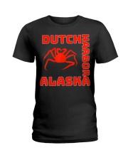 Alaska crab legs Alaska crab fishing crabs d Ladies T-Shirt thumbnail