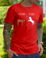 Your Grandma My Grandma Horse Unicorn Classic T-Shirt lifestyle-mens-crewneck-front-7