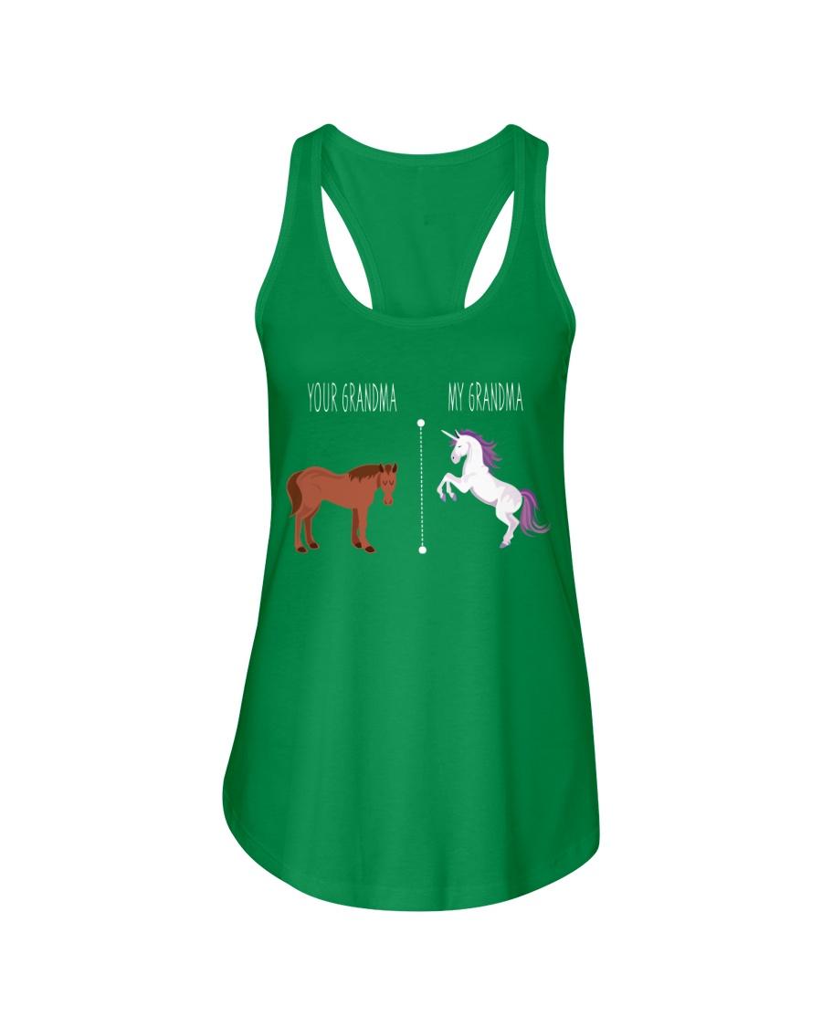 Your Grandma My Grandma Horse Unicorn Ladies Flowy Tank