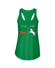 Your Grandma My Grandma Horse Unicorn Ladies Flowy Tank front