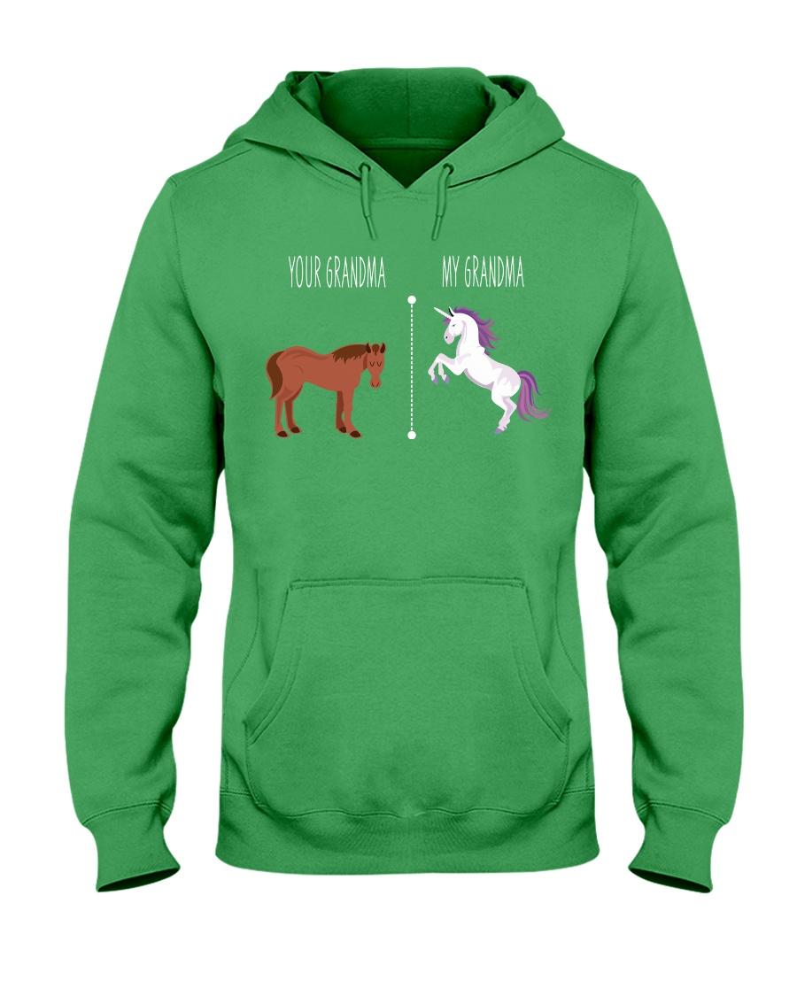 Your Grandma My Grandma Horse Unicorn Hooded Sweatshirt