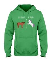 Your Grandma My Grandma Horse Unicorn Hooded Sweatshirt front