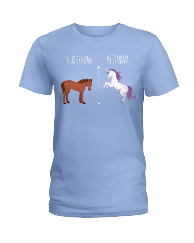 Your Grandma My Grandma Horse Unicorn