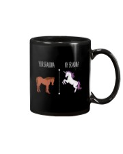 Your Grandma My Grandma Horse Unicorn Mug tile