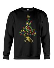Bicycle Christmas Tree v3 Crewneck Sweatshirt front