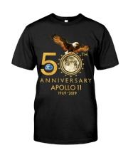 50th Anniversary Apollo 11 moon landing 1969 Classic T-Shirt front