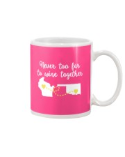 Available for a short time only Mug front