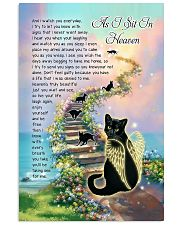 As I Sit In Heaven Vertical Poster tile