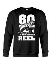 60th Birthday And Still Keeping It Ree Crewneck Sweatshirt thumbnail