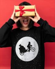New Santa's Sleigh v2 Crewneck Sweatshirt apparel-crewneck-sweatshirt-lifestyle-front-18