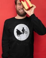 New Santa's Sleigh v2 Crewneck Sweatshirt apparel-crewneck-sweatshirt-lifestyle-front-22