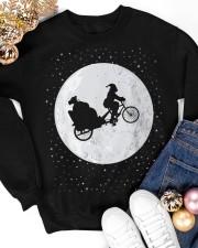 New Santa's Sleigh v2 Crewneck Sweatshirt apparel-crewneck-sweatshirt-lifestyle-front-25
