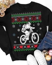 Xmas - MTB v3 Crewneck Sweatshirt apparel-crewneck-sweatshirt-lifestyle-front-25