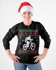 Xmas - MTB v3 Crewneck Sweatshirt apparel-crewneck-sweatshirt-lifestyle-front-26