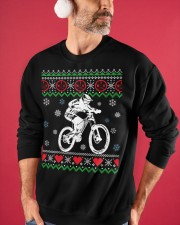 Xmas - MTB v3 Crewneck Sweatshirt apparel-crewneck-sweatshirt-lifestyle-front-32