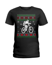 Xmas - MTB v3 Ladies T-Shirt thumbnail