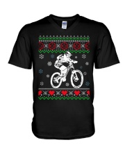 Xmas - MTB v3 V-Neck T-Shirt thumbnail