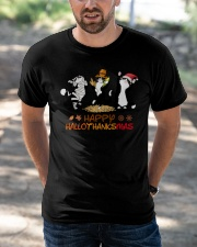 Happy hallo thank smas Classic T-Shirt apparel-classic-tshirt-lifestyle-front-50