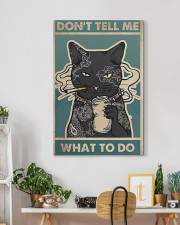 cat poster 20x30 Gallery Wrapped Canvas Prints aos-canvas-pgw-20x30-lifestyle-front-03