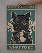 cat poster 20x30 Gallery Wrapped Canvas Prints aos-canvas-pgw-20x30-lifestyle-front-29