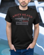 Amity Island Bait and Tackle Retro Fishing T Classic T-Shirt apparel-classic-tshirt-lifestyle-front-45