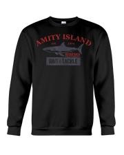 Amity Island Bait and Tackle Retro Fishing T Crewneck Sweatshirt thumbnail