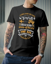 Lord Guard and Guide the Men Who Fly Classic T-Shirt lifestyle-mens-crewneck-front-6