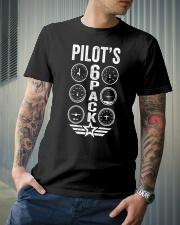 Pilot's 6 Packs Classic T-Shirt lifestyle-mens-crewneck-front-6