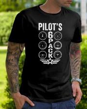 Pilot's 6 Packs Classic T-Shirt lifestyle-mens-crewneck-front-7
