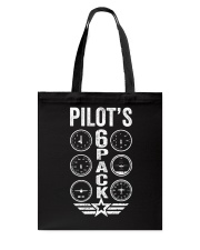 Pilot's 6 Packs Tote Bag thumbnail