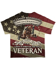 Stand for the Flag All-over T-Shirt back