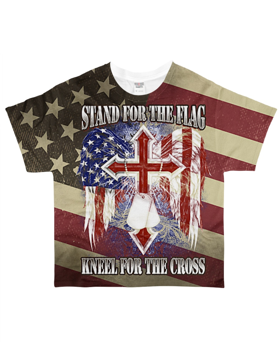 Stand for the Flag All-over T-Shirt