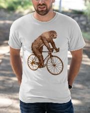 Sloth Biking Classic T-Shirt apparel-classic-tshirt-lifestyle-front-50