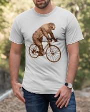 Sloth Biking Classic T-Shirt apparel-classic-tshirt-lifestyle-front-53