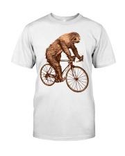 Sloth Biking Classic T-Shirt front