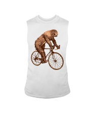 Sloth Biking Sleeveless Tee thumbnail