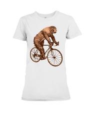 Sloth Biking Premium Fit Ladies Tee thumbnail