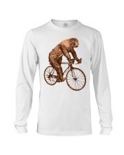 Sloth Biking Long Sleeve Tee thumbnail