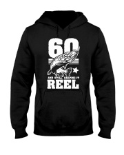 60th Birthday And Still Keeping It Reel Fish Hooded Sweatshirt tile