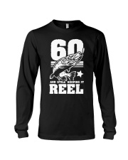 60th Birthday And Still Keeping It Reel Fish Long Sleeve Tee tile
