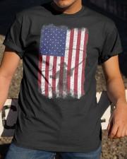 American Flag Fishing Shirt Fly Fishermen Sh Classic T-Shirt apparel-classic-tshirt-lifestyle-28