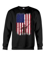 American Flag Fishing Shirt Fly Fishermen Sh Crewneck Sweatshirt thumbnail