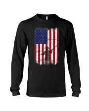 American Flag Fishing Shirt Fly Fishermen Sh Long Sleeve Tee thumbnail