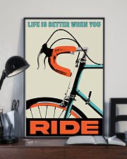 Life Is Better When You Ride 11x17 Poster lifestyle-poster-2
