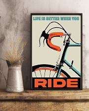 Life Is Better When You Ride 11x17 Poster lifestyle-poster-3