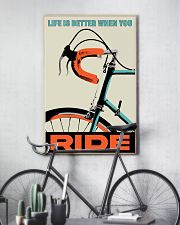 Life Is Better When You Ride 11x17 Poster lifestyle-poster-7